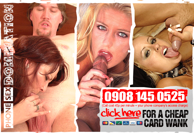 Call or Click for Cock Control Phone Sex