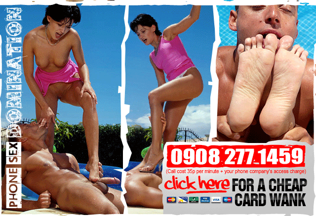 Call or Click for Foot Fetish Phone Sex