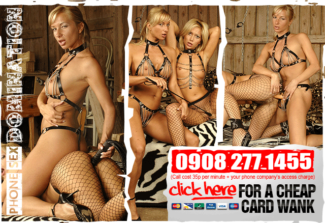 Live Telephone Sexual Bondage - Call or Click Here